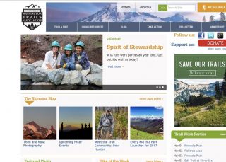 Washington Trails Association website.