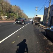 First look: New striping and pavement on key stretch of Highway 30