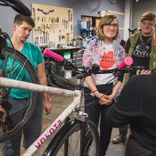 Gal by Bike: Dispatch from a bike maintenance class