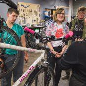 Gal by Bike: Dispatch from a bike maintenance class