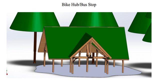 sandy-bikehub-busstop