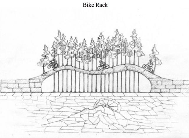 sandy-bikerack