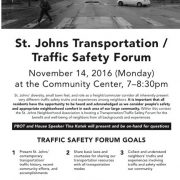 St. Johns fatality fuels fire of neighborhood's safe streets activism
