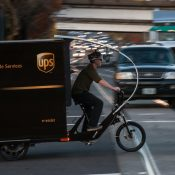 UPS now using pedal-powered trike to deliver freight in Portland