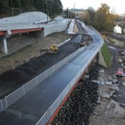 Take a photo tour of new bike access on nearly completed Sellwood Bridge