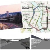 PBOT moves forward with carfree 'Sullivan's Crossing' bridge over I-84