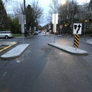 Diverter at Clinton and 32nd is complete