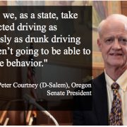 Oregon Senate prez wants distracted driving penalties on par with drunk driving