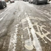 Icy biking open thread: Share conditions and your experiences