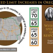 Despite safety rhetoric, ODOT looks into raising highway truck speeds