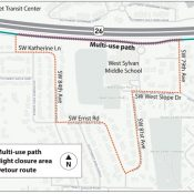 One month of Highway 26 path closures start December 7th