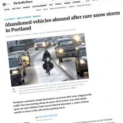 Don't blame the weather for this mess (or snow plows, or bad drivers, or…)