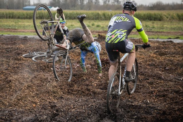 Qualifying day at Singlespeed Cyclocross World Championships out at Kruger's Farm on Sauvie Island.(Photos by Rob Kerr)