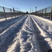 Is the bike shop open? Are the bike lanes icy? An open thread for post-storm intel