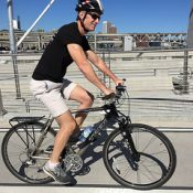 Portland's new mayor biked to work in freezing temps for his first day on the job