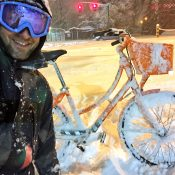 Portland is absolutely covered in snow: Let's go ride (and walk and play)!
