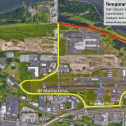 Route advisory: 40-Mile Loop closure in Troutdale through February 3rd