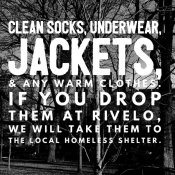 Collecting Warm Clothes at Rivelo