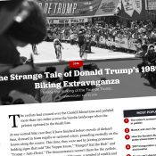 The Monday Roundup: Tour de Trump, fatbikes, racial profiling, and more