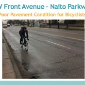 PBOT will extend Naito Parkway bike lanes into NW industrial area