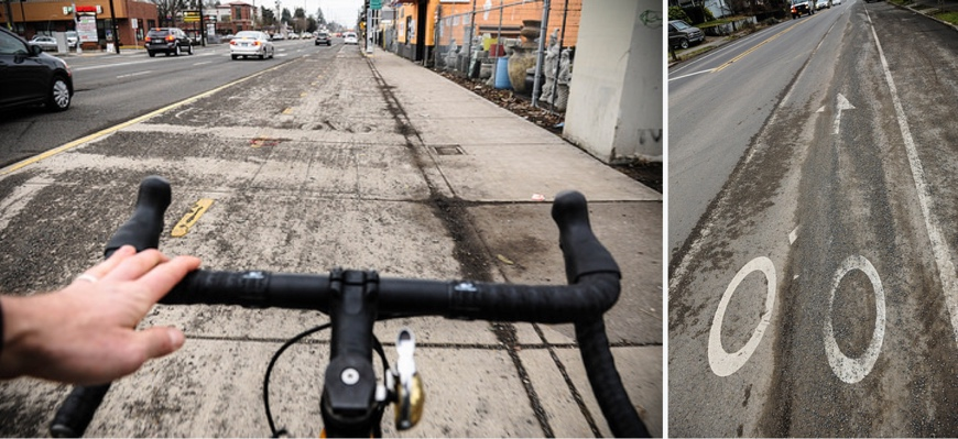 For bike riders, the storm's hazardous road conditions continue -  BikePortland org