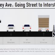 PBOT planning jersey-barrier protected bikeway on North Greeley Ave