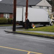 A bicycle rider has died in a collision with a box truck driver in North Portland - UPDATED