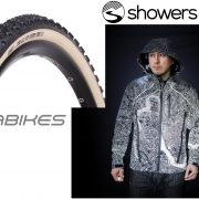 Industry Ticker: New 'Atlas' jacket from Showers Pass; Islabikes launches 'cross tires for adults