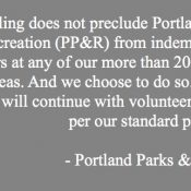 Portland Parks says immunity ruling won't impact volunteers at Gateway Green, other sites