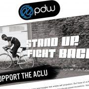 Portland bike company will donate one week of sales to the ACLU