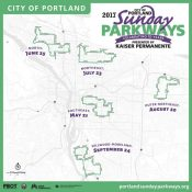 Portland announces 10th anniversary Sunday Parkways season