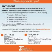 ODOT wants your feedback on future regional transportation projects