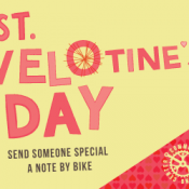 Community Cycling Center will spread love with 'Velotines' cards delivered by bike