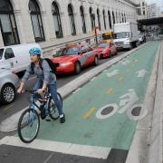 A look at how D.C. is building protected bikeways