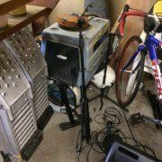 Bikes stolen from garage last night