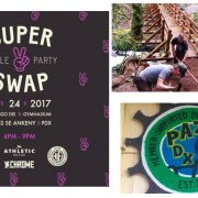 Weekend Event Guide: SuperSwap, architecture, trail work party, and more