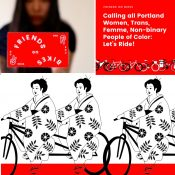 New 'Friends on Bikes' group wants to create a warm welcome for women of color