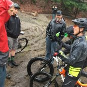 New IMBA Director Dave Wiens visits Gateway Green bike park