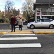 First look at PBOT's new crossing of Hawthorne at 43rd - UPDATED