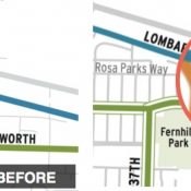 Portland edits city bike map to reflect fatal bike lane gap