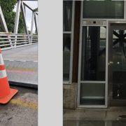 Updates: Portion of Esplanade path closes, Lafayette Bridge elevator back online (for now)