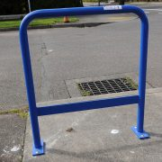 Sorry bike thieves, PBOT's new — more secure — staple racks are finally hitting the streets