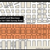 Route advisory: MAX and sewer repair will have major impacts on SW Morrison/Yamhill