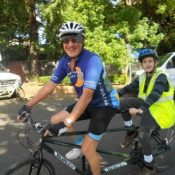 Tandem captains needed ASAP for blind rider program