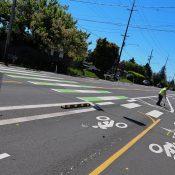 Killingsworth gets two-way protected bike lanes in Cully neighborhood