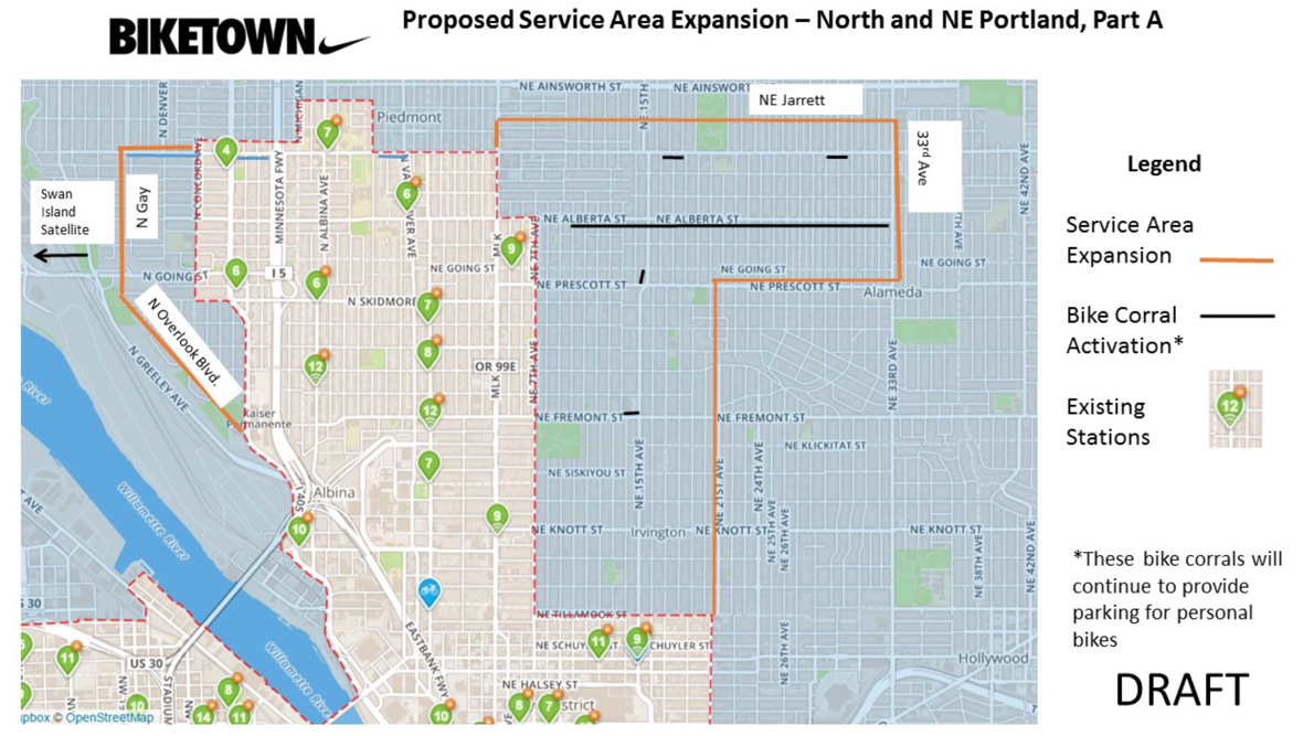 Alberta, Swan Island and more: City preps Biketown expansion ... on