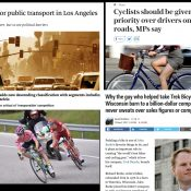 The Monday Roundup: A cycling revolution, bike fashion sense, order versus safety, and more