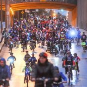 Riding Montréal's Tour la Nuit (photos)