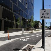 Portland's newest and smallest street is also carfree