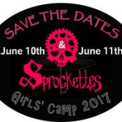 Sprockettes Girls Camp